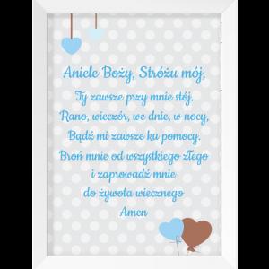 modlitwa aniele bozy dla dziecka